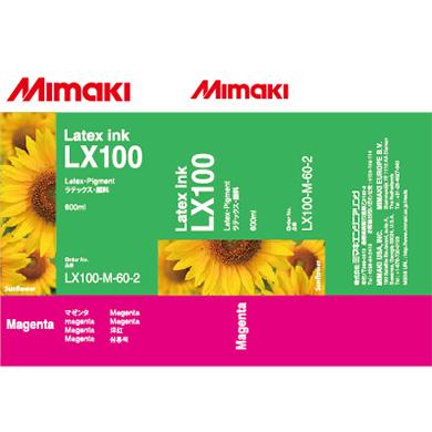 LX100-M-60 LX100 Latex Ink pack Magenta