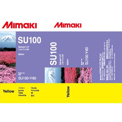 SU100-Y-60 SU100 Solvent UV ink pack Yellow