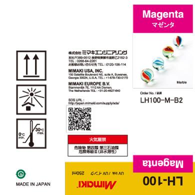 LH100-M-B2 LH-100 Magenta